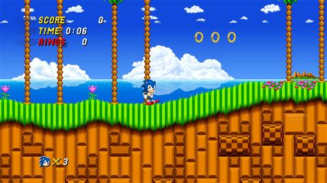 Sonic 2 HD Game Free Download