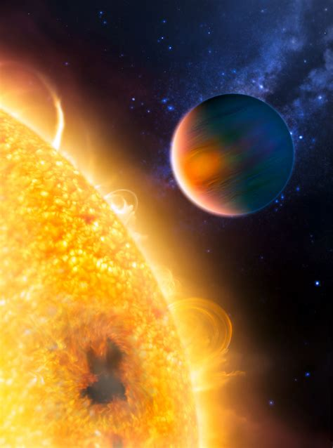 Hubble finds first organic molecule on extrasolar planet
