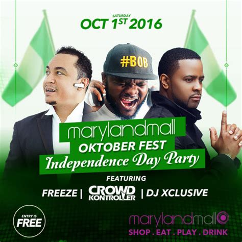 Celebrate Nigeria's Independence day with DJ Xclusive