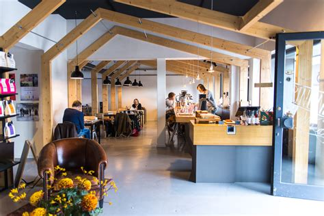 A High-Design Makeover For Amsterdam's Coffee Company