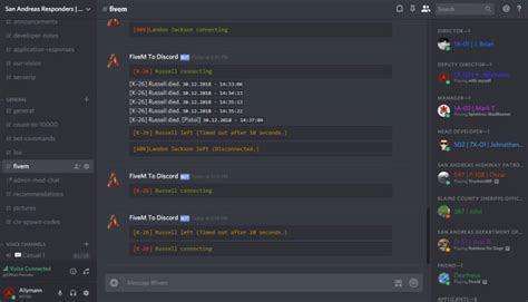 Create a fully complete fivem discord server for you by