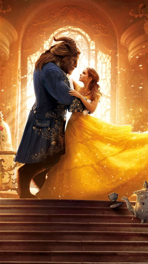 Wallpaper Beauty and the Beast, 2017, HD, 4K, 8K, Movies