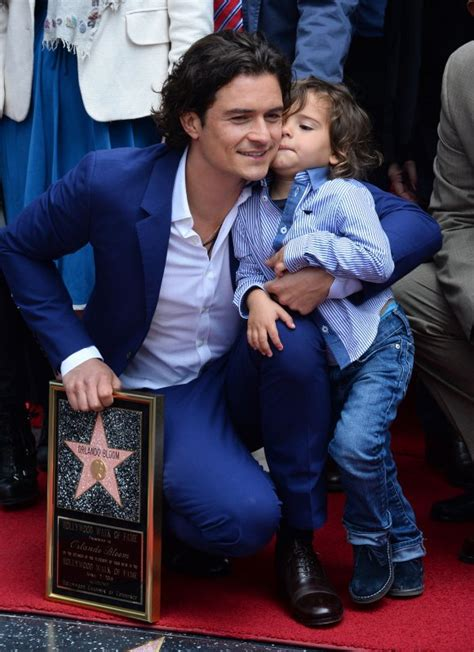 Orlando Bloom's son Flynn steals the show at Walk of Fame