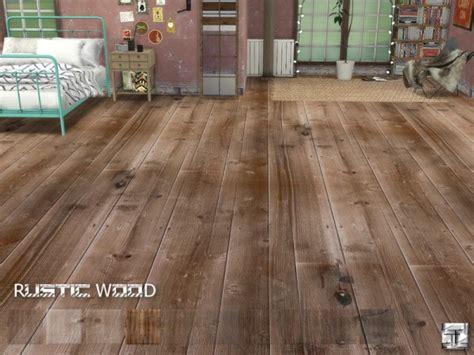The Sims Resource: Rustic Wood Floors by