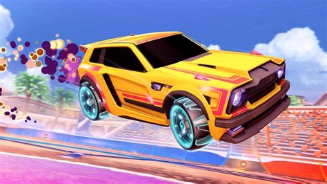 Trying Out the NEW Rocket League Car