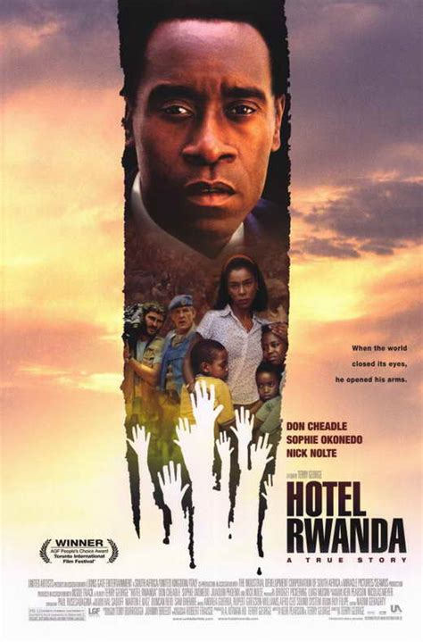 Hotel Rwanda Movie Posters From Movie Poster Shop