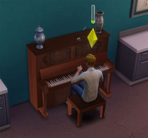 Mod The Sims: Simple Upright Piano by ugly