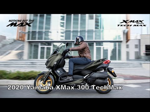 Yamaha XMAX 250 Tech MAX 2020 - Features and Technical