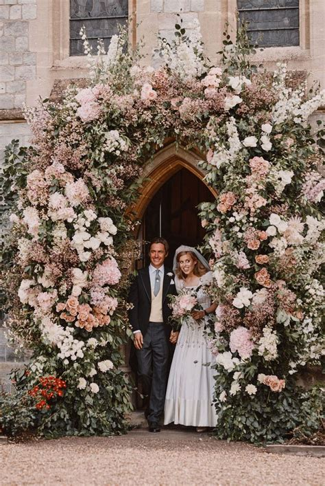 Princess Beatrice Got Married in the Queen's Dress From
