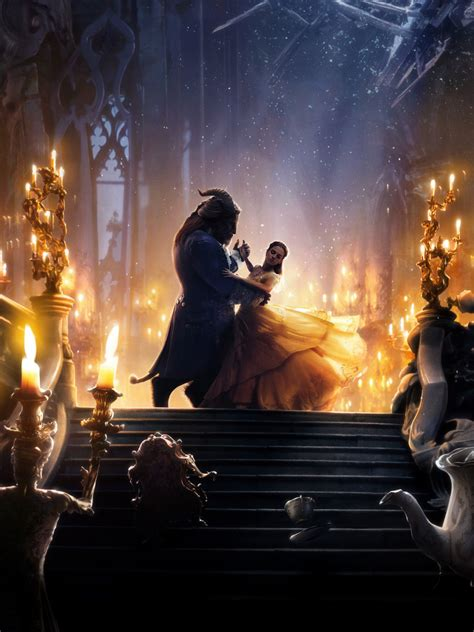 Wallpaper Beauty and the Beast, 2017, 4K, 8K, Movies