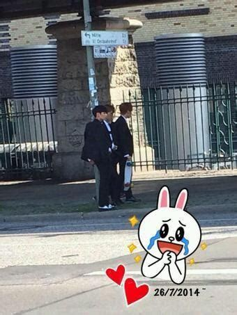[Picture/Fansnap] BTS (Jungkook,J-Hope and V) at Berlin
