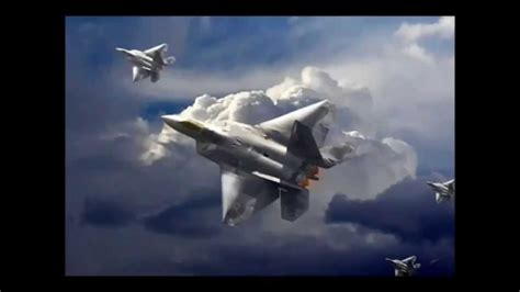 The F- 22 Raptor dog fights Russian Sukhoi