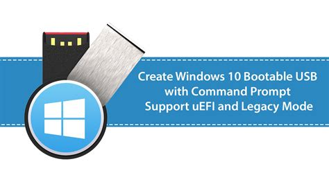 How to Create Windows 10 Bootable USB with Command Prompt