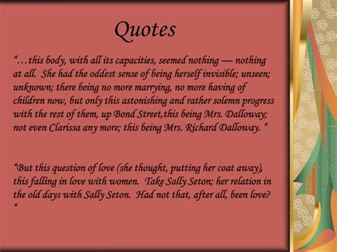 PPT - Mrs Dalloway PowerPoint Presentation, free download
