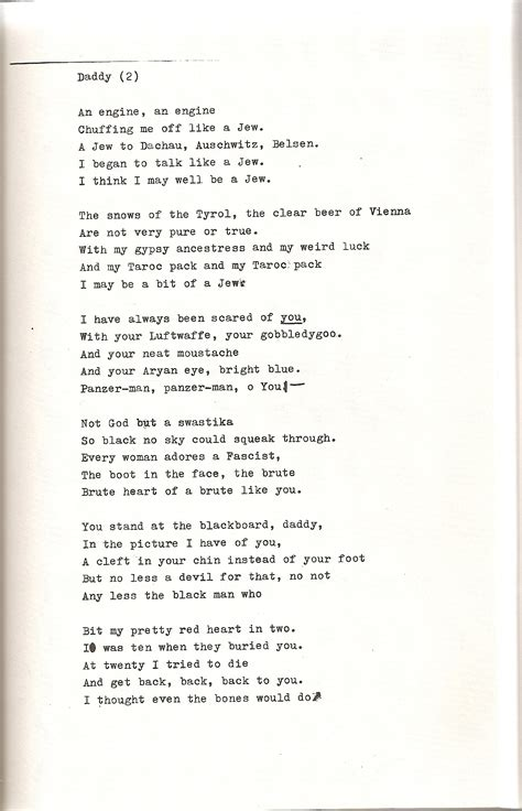 """Plath's """"Daddy"""" 