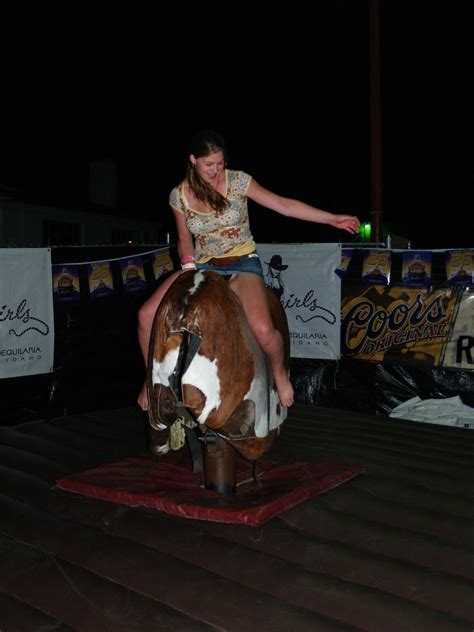 """Skirts and mechanical bulls 