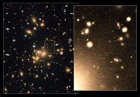 New Hubble image of galaxy cluster Abell 1689 | ESA/Hubble