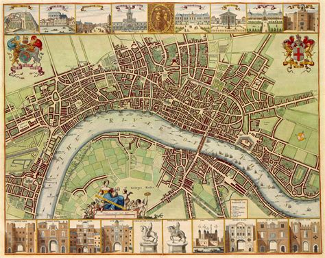 Maps of London | Detailed map of London in English | Maps